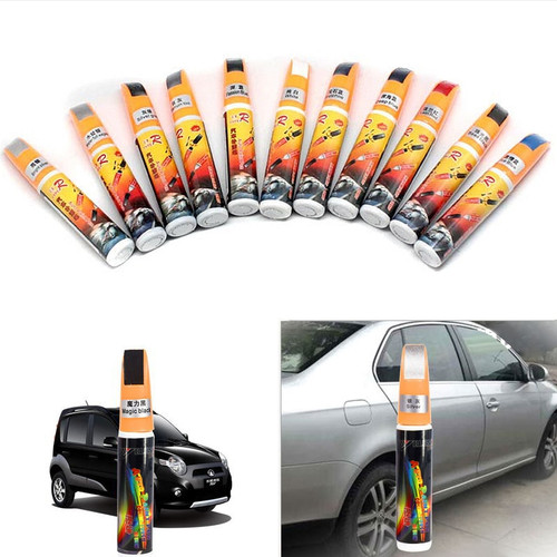 White Black Blue Red Silver Yellow Car Paint Repair Pro Pen Mending Car Remover Scratch Repair Paint Pen Care Accessories
