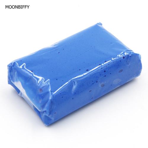 MOONBIFFY 1pc Magic Car truck Clean Clay Bar Auto Detailing Cleaner Car Washer Blue 100g