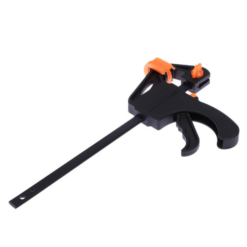 4 Inch F Clamp Quick Ratchet Release Speed Squeeze Wood Working Work Bar Clip Kit Spreader Gadget Tools DIY Hand Tool