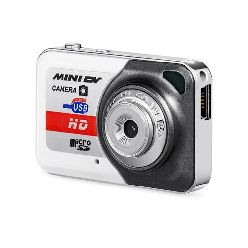 X6 Portable Maximum Capacity 32G Digital Camera Ultra High Definition Mini Camera PC DV Shooting Recording Camera with Microphon