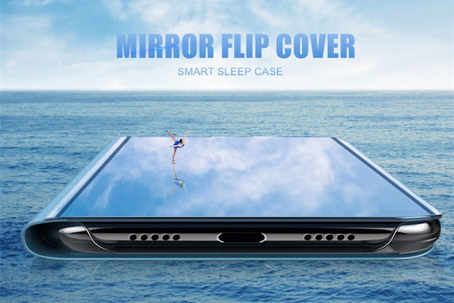 MaxGear Mirror Clear Smart View Case For Huawei Mate 9 10 Pro Honor V10 8 9 Lite Leather Stand Flip Cover Luxury Phone Case