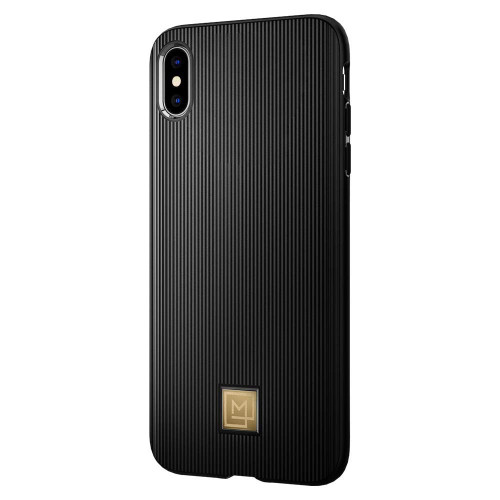100% Original SPIGEN La Manon Classy Black Soft TPU Cases for iPhone XS Max / iPhone XS / iPhone X / iPhone XR