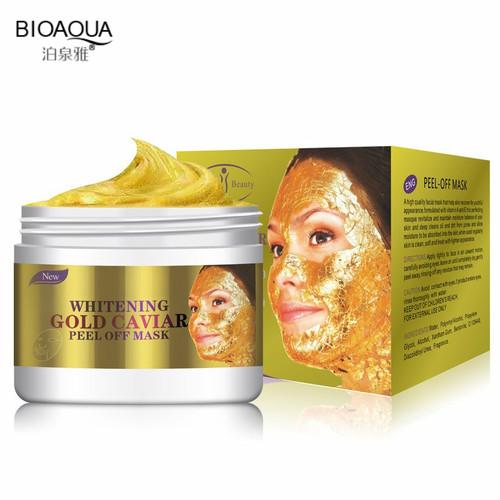 BIOAQUA Fashion Facial Face Mask 24K Gold Collagen Peel Off Facial Mask Face Skin Moisturizing Firming Anti Aging 150ML