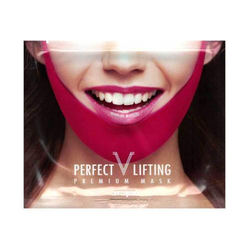 Korea Cosmetic Avajar Perfect V Lifting Premium Mask 1pcs V-Shape Jawline Mask Face Firming Lift Up Jawline Management Effect