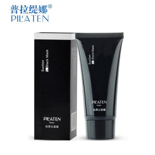 1pc PILATEN Face Care Black Mask facial mask Blackhead Remover Peeling Acne skin Treatments mascara remove dots