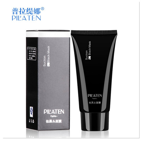 PILATEN 2Pcs/Lot Face Care Black Mask facial mask Blackhead Remover Peeling Acne skin Treatments