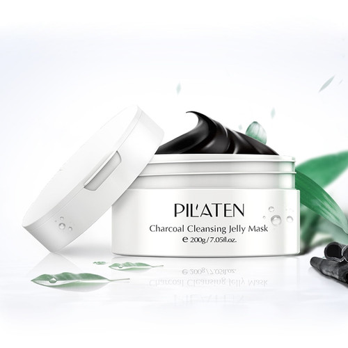 PIL'ATEN Charcoal Mask skin smooth beauty Blackhead Remover Nose Mask Pore Strip Black Mask Acne Deep Cleansing Skin Care