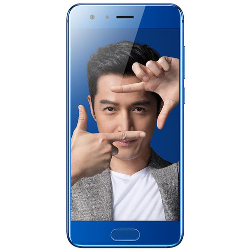 International Huawei Honor 9 4G/6G RAM 64G/128G ROM Octa Core Kirin 960 Mobile Phone 5.15'' Android 7.0 Quick Charge S