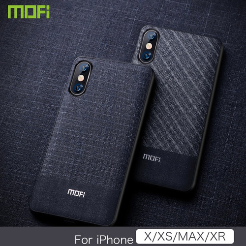 """Xs Max Case Cover For iPhone Xs Max Case 6.5"""" For iPhone Xs Case Mofi For iPhone XR Case Business Dark Color For iPhone X Cover"""