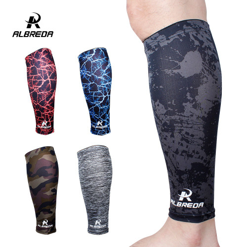 2 piece Sports Safety football Basketball Leg Sleeve Outdoor Sports Running Compression Calf Sleeves Stretch Leggings knee pads