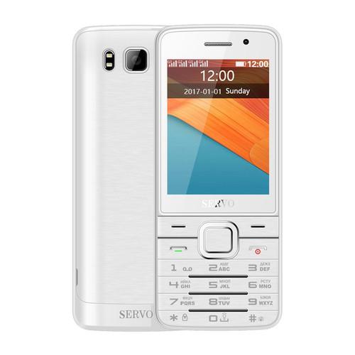 Quad SIM Card Mobile Phone SERVO V9500 2.8 Inch 1100mAh Dual Cameras Flashlight Bluetooth FM Radio 4 Standby Feature Phone