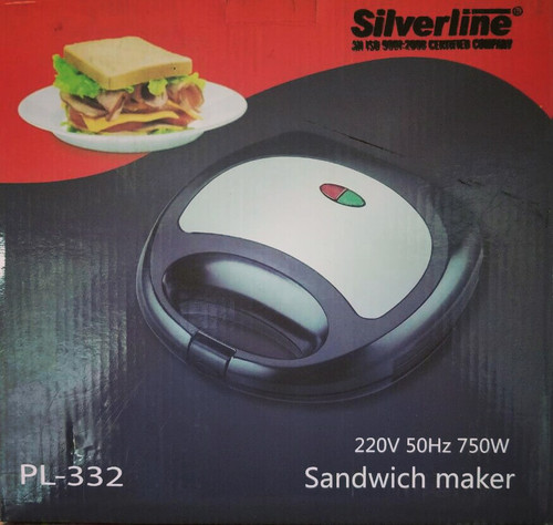 Silverline Sandwich Maker PL-332