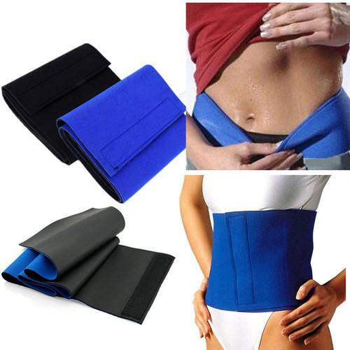 Neoprene Waist Trimmer Belt Sweat Fat Cellulite  Body Leg Slimming Shaper Exercise Wrap Belt Body Slimming Belt waist support