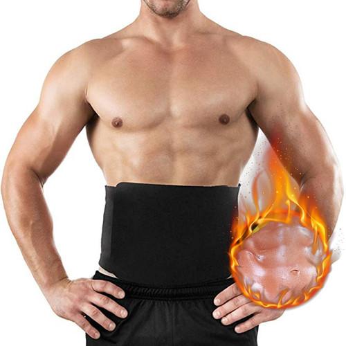 LOOZYKIT 6XL Men Waist Trainer Hot Shaper Cincher Corset Male Body Neoprene Slimming Waist Trimmer Belt Fitness Sweat Shapewear