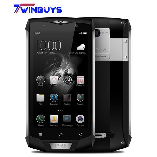 "Blackview BV8000 Pro IP68 Waterproof 4G Mobile Phone 5.0"" FHD MTK6757 Octa Core 6GB RAM 64GB ROM 16MP Cam Side Fingerprint ID"
