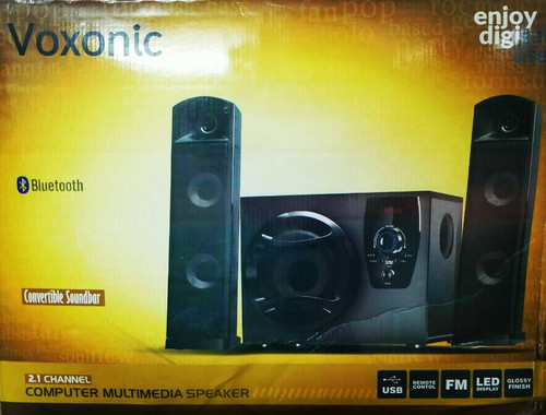 Voxonic Bluetooth Convertible Soundbar