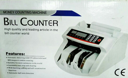 Money Counting Bill Counter Machine