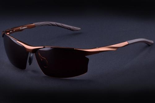 Aluminum magnesium alloy men's polarized sunglasses driver mirror sunglasses male sunglasses fashion driving sunglasses