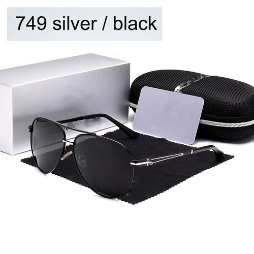 high quality Polarized sunglasses Men women Eyewear Large frame Double beam Driving pilot Glasses Oculos De UV400