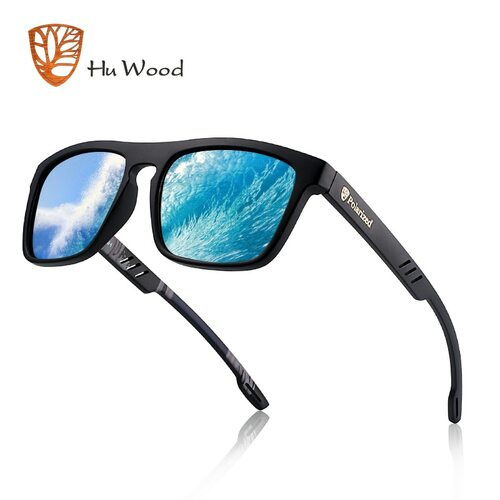2019 Polarized Sunglasses Men Women Reflective Coating Square TR Sun Glasses UV400 Driving Fishing Sport Eyewear Zonnebril Heren