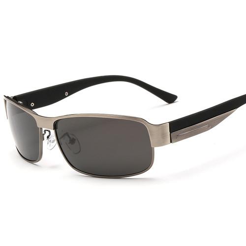MOSILIN New Fashion Mens Polarized Sunglasses Black Night Driving Safety Sun Glasses Mirror UV400