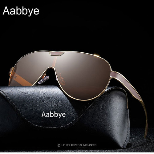 Aabbye Ultralight Pilot Polarized Sunglasses Classical Driving Fishing Aviation Sun Glasses