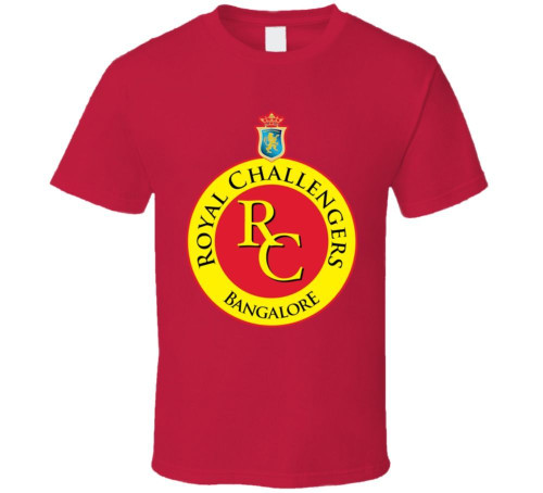 Banglore Royal Challengers Ipl Cricket India T Shirt Cartoon t shirt men Unisex New Fashion tshirt free shipping funny tops