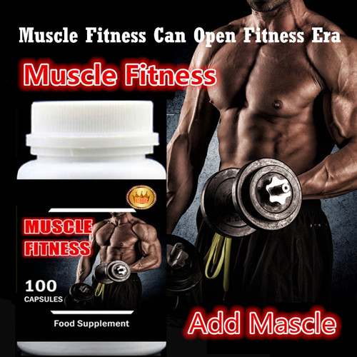 100pcs/bottle Muscle Fitness Fast and Easy Add Muscle and Weight Gainer,Whey Protein + Creatine,Amazing Effect and Price
