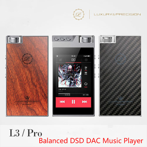 2017 Luxury & Precision L3 Pro Portable Double DSD DAC USB ECC MLC HIFI Music Lossless Carbon Balanced Audio Music Player MP3