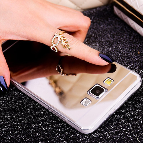 Mirror Soft TPU Phone Case For Samsung galaxy S8 S9 A8 Plus 2018 J1 ACE A3 5 7 J3 J5 J7 J730 2017 2015 2016 Back Cover Bags