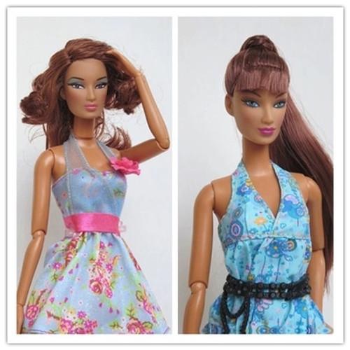 Limited Original Fashion Model FR Doll Integrity Fashion Royalty Doll DIY Senior mannequin head + jointed body for barbie