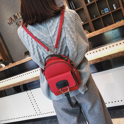 2017 Women Leather Backpack children backpack mini backpack women cute back pack backpacks for teenage girls small shoulder bags