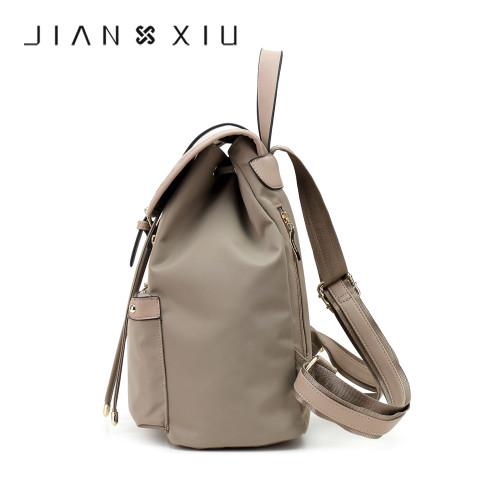 JIANXIU Fashion Backpack Women Bag Mochilas School Bags Oxford Backpacks Travel Mochilas Mujer Ultra-light Waterproof Back Pack