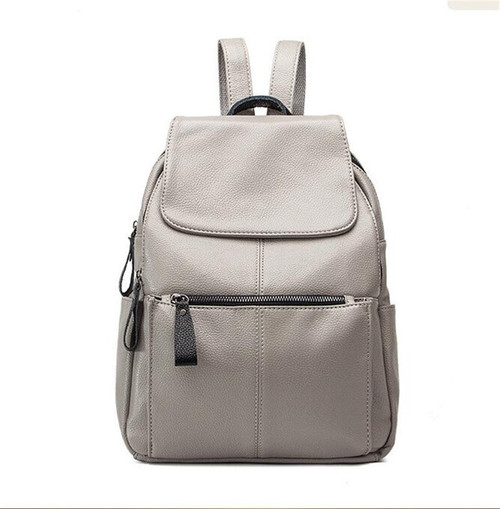 New Fashion Casual Women Backpack Female Leather Women's Backpacks Black Bagpack Bags Girls Schoolbag Travel Bag back pack