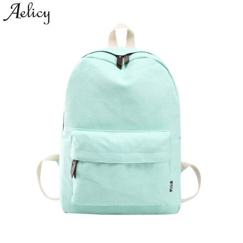Aelicy Fashion School Backpack Women Schoolbag Back Pack Leisure Korean Ladies Knapsack Laptop Travel Bags for Teenage Girls Boy