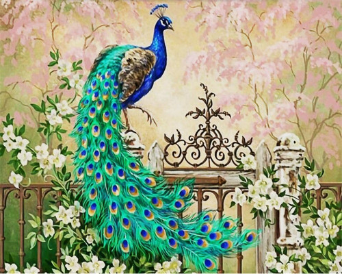 Beibehang Custom large 3D wallpaper Peacock European oil painting modern home decoration wallpaper papel de parede 3d wallpaper