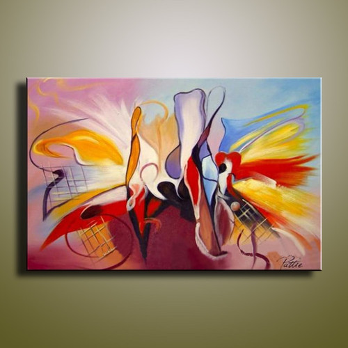 handmade oil painting on canvas Household adornment picture Best Art Abstract oil painting original directly from artis XD1-243