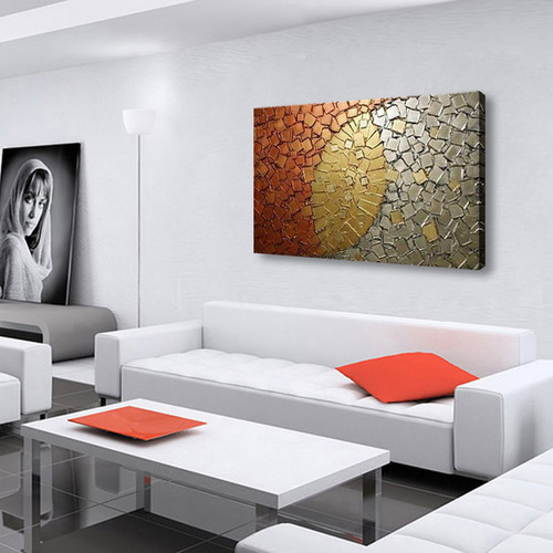 handmade oil painting on canvas modern 100% Best Art Abstract oil painting original directly from artis XD1-200vv