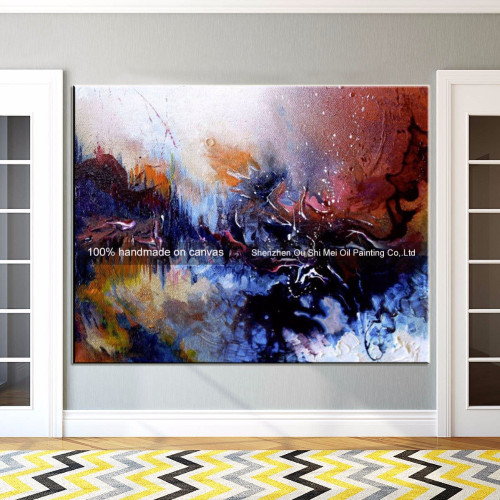 Fast Delivery Hand Painted Oil Paintings on Canvas Wall Oil Painting Abstract Landscape Handmade Picture Artwork For Home Decor