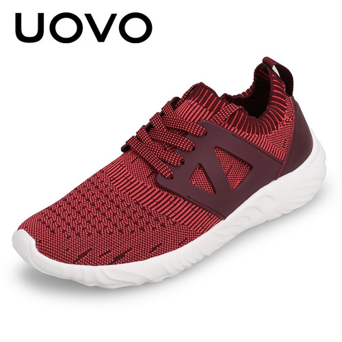Men Sports Shoes Breathable Knit Autumn And Summer Walking Shoes Men Light-weight And Soft Sole Men Casual Shoes Eur #39-43
