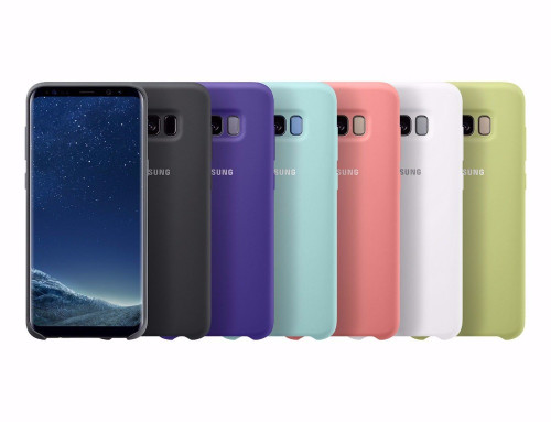 100% Original Samsung Silicone Case cover for Samsung Galaxy S8 S8 PLUS S8+ g9550 9500 EF-PG950 Protection - Anti-Wear -6 colors