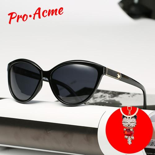 Pro Acme Retro Cat Eye Sunglasses Women Polarized Lady Elegant Sun Glasses Female Driving Eyewear lunette soleil femme PB1223