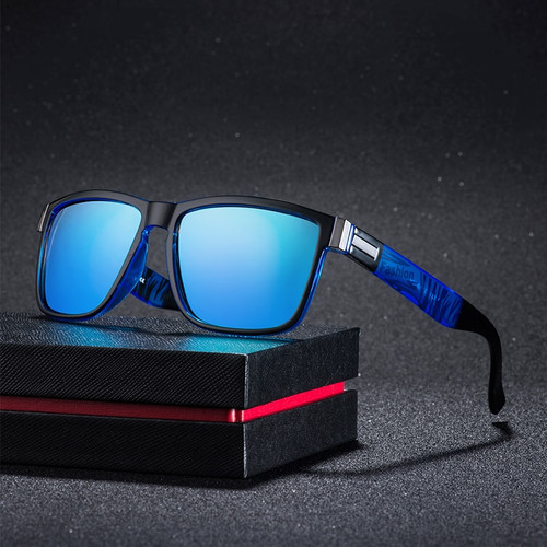 Classic Square Polarized Sunglasses Men Women Brand Designer Vintage Driving Goggle Retro Mirror Male Sun Glasses UV400 Oculos