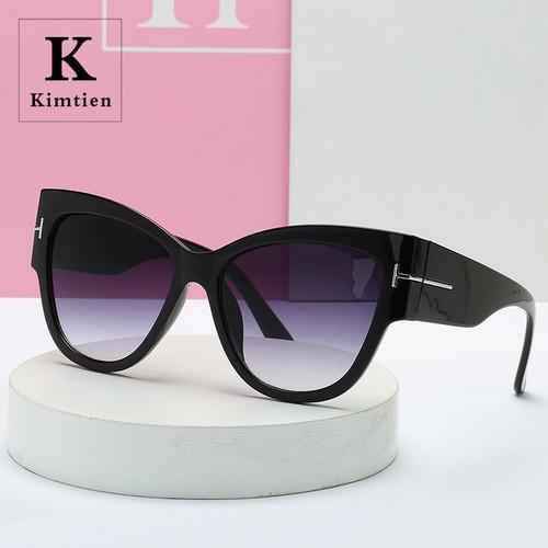 Classic Cat Eye Sunglasses Women Vintage Oversized Gradient Sun Glasses for men women Luxury Designer UV400 Sunglass Gafas Brand (