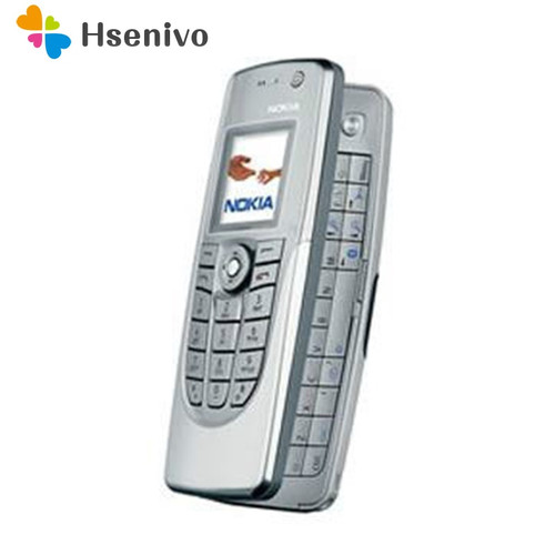 Hot sale Old Fashion Phone Original Unlocked Nokia 9300 Flip GSM Mobile Phone Symbian 7.0s With Multi-language Free shipping