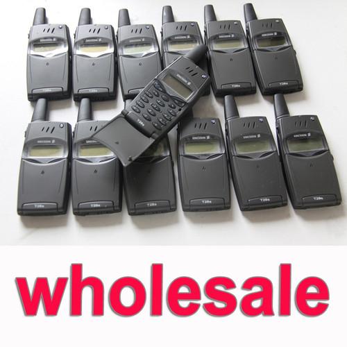 Wholsale 10pcs/Lot Original Ericsson T28 T28s Mobile Phone 2G GSM 900/1800 Unlocked T28sc Old Phone