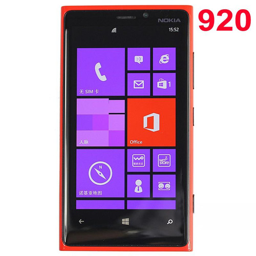 Original Lumia 920 Cellphone Nokia 920 Windows Phone ROM 32GB 8.7MP WIFI Unlocked 3G 4G Refurbished Mobile Phone
