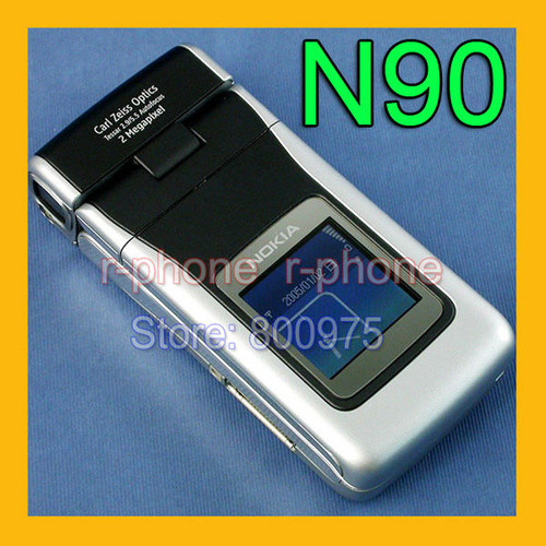100% Original NOKIA N90 Mobile Cell Phone GSM Unlocked Refurbished
