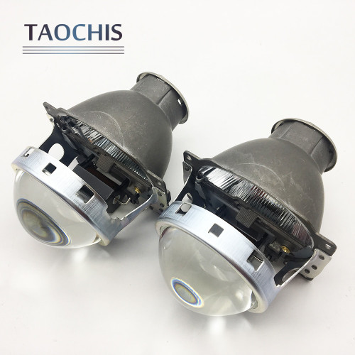 TAOCHIS Car Styling Auto Head Light Restyle 3.0 inch Bi-xenon Projector Lens Koito Q5 H7 Retrofit Universal Car Light