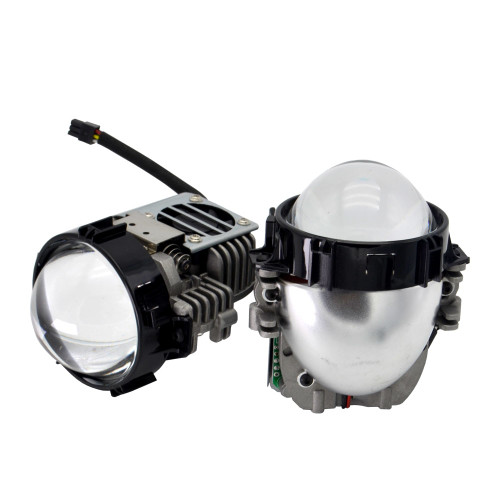 40W 2.5 inch BI LED projector lens car headlight retrofit universal LED Headllamp High Low Beam hid xenon lens Car accessories